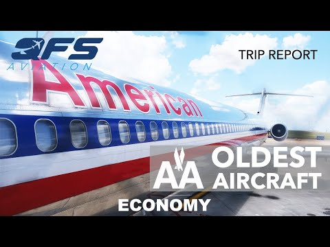 Flying On The Oldest Aircraft In American Airlines Fleet