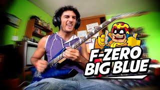 F-ZeroX - BIG BLUE  - por Johann Vargas