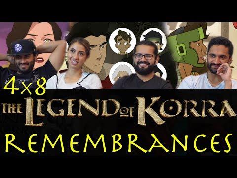 The Legend of Korra - 4x8 Remembrances - Group Reaction