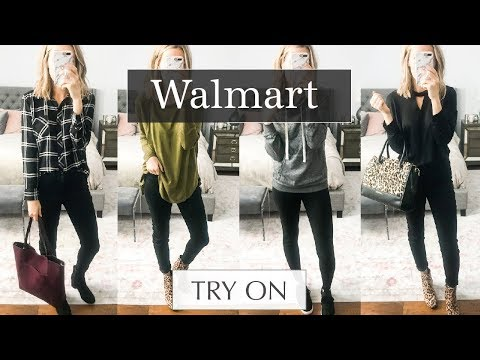 Huge Walmart Try On Haul: October 2018 Fall Outfits