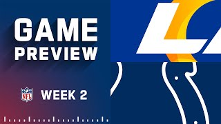 Los Angeles Rams vs. Indianapolis Colts   Week 2 NFL Game Preview