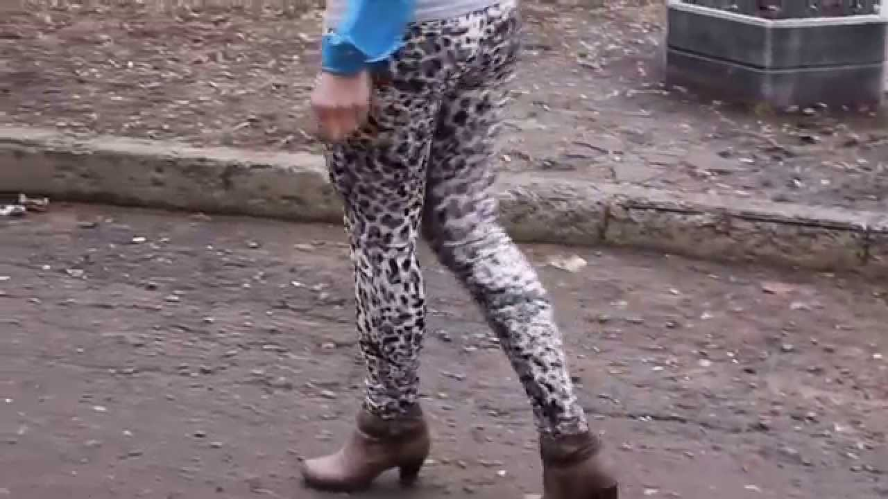 Лосины пуш-ап Черные с Алиэкспресс - YouTube