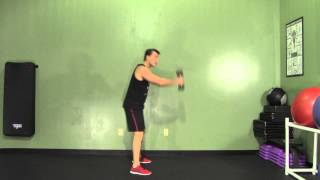 Dumbbell Posterior Swing to Overhead - HASfit Compound Exercises - Total Body Exercise
