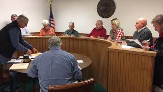 Rogersville Sewer Commission followed by BMA 11 13 18