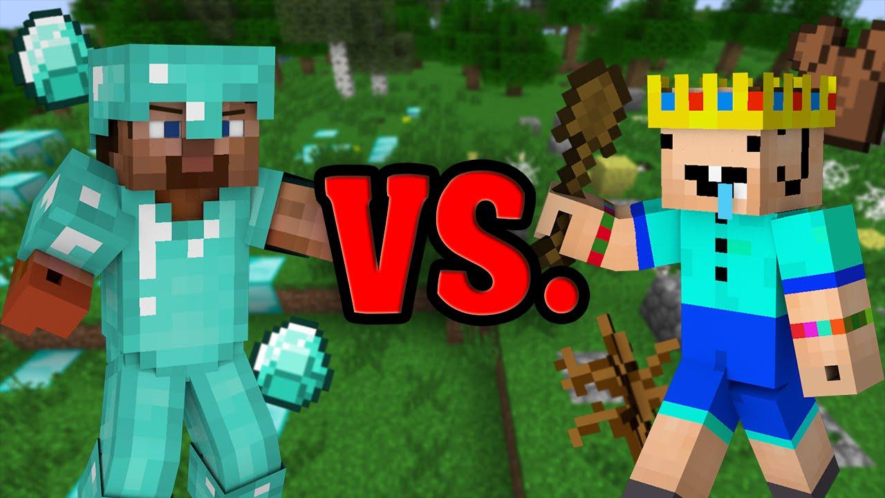 noob vs pro minecraft