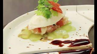 Tomate Mozza comme un sushi - Recette Alexis Top Chef