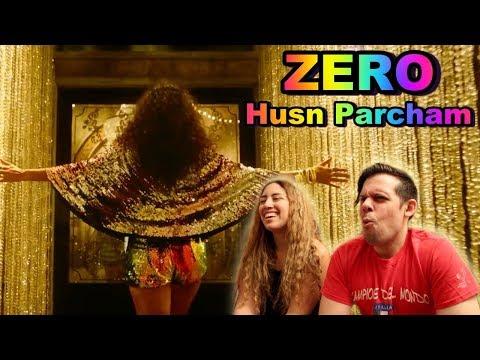 ZERO: Husn Parcham Video Song|Katrina Kaif| AMERICAN REACTION!