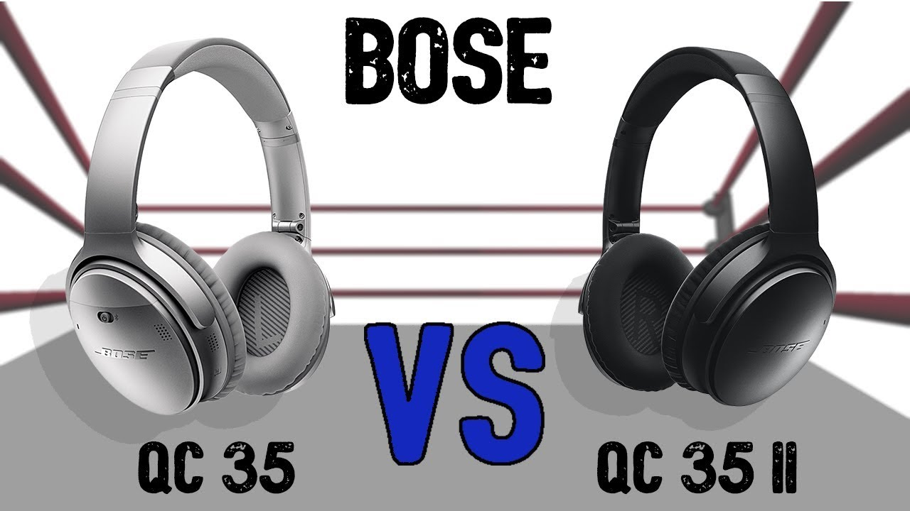 Bose Qc25 Vs Qc35 >> Bose Qc35 Vs Qc35 Ii Comparison Youtube
