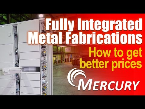 Large Metal Fabrications - full build & integration - Mercury Corp