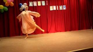 Kvindelig solodanser - Børnefestival