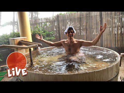 Bath at a Japanese Ryokan: Kaike Onsen Experience