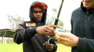 APY Thunder players visit Waikerie