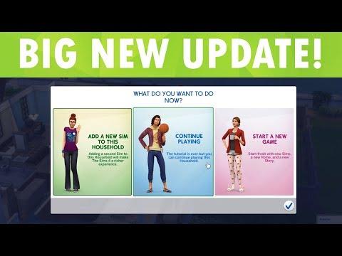 The Sims 4 HUGE NOVEMBER UPDATE! (Secret Feature) thumbnail