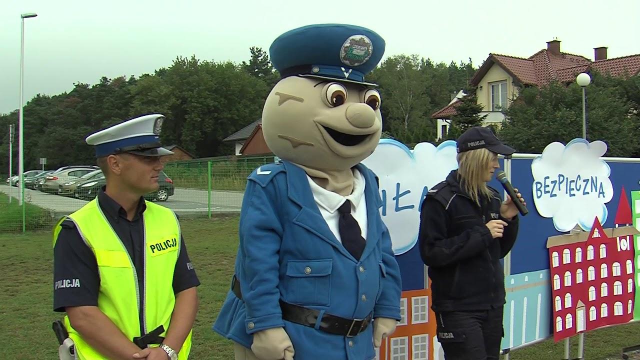 Piła: sierżant Pyrek uczy dzieci zasad bezpieczeństwa