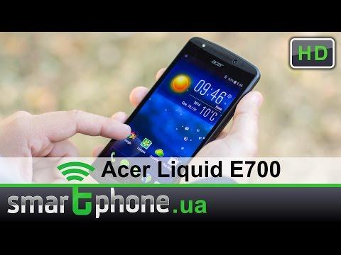 Acer Liquid E700 - Обзор Android смартфона на 3 SIM-карты