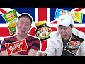 KOREANS TRY BRITISH SNACKS FOR THE FIRST TIME! (and almost die.. again)