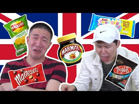 KOREANS TRY BRITISH SNACKS FOR THE FIRST TIME and almost die again