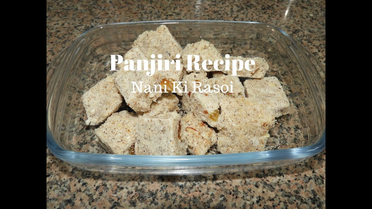 Panjiri recipe janmashtami recipes panjiri recipe janmashtami recipes indian mithai nani ki rasoi forumfinder Gallery