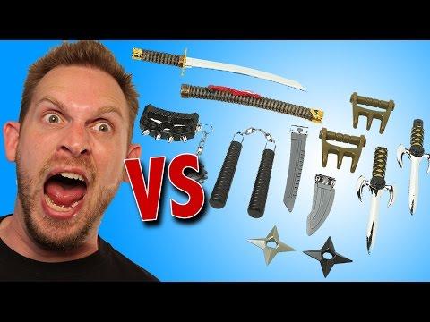 True Heroes Deluxe Ninja Weapons Arsenal Unboxing