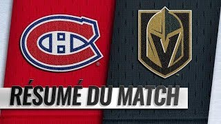 Canadiens vs Golden Knights 2018-19 Match 37