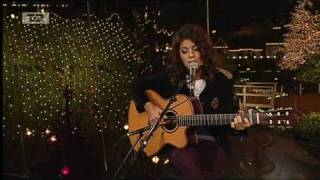 Katie Melua - Nine Million Bicycles (Danish TV)