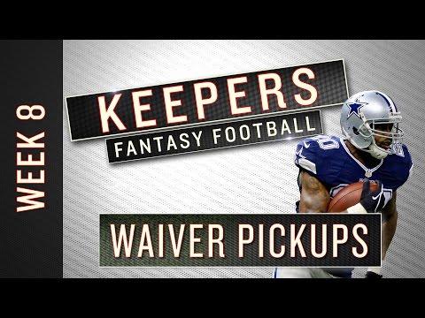 NFL Week 8 fantasy football waiver wiretargets