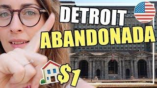 DETROIT: CIUDAD ABANDONADA💵¡CASAS a $1!🇺🇸MI VIDA EN EEUU | VLOGS DIARIOS | Raque Late Vlogs