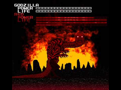 Nes Godzilla Creepypasta Ost Red Rage Youtube