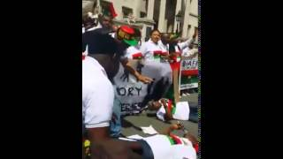Biafrans In UK,on Biafran Memorial Day,
