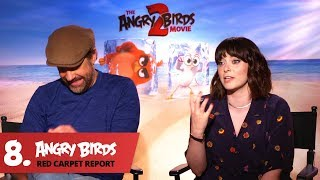 Rachel Bloom Is a Genius! - Angry Birds Red Carpet Report Ep.8