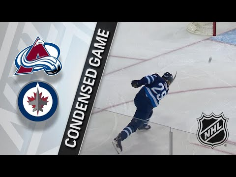 02/03/18 Condensed Game: Avalanche @ Jets
