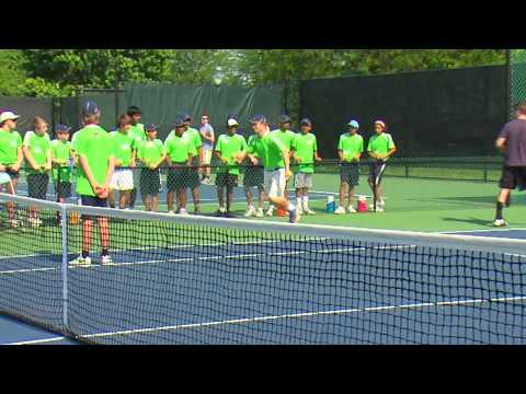 Being a Tennis Ball Kid