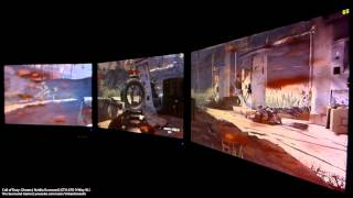 Call of Duty: Ghosts - Nvidia Surround - GTX 670 3-Way SLI
