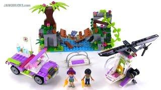 Lego Friends 41036 Jungle Bridge Rescue Set Review!