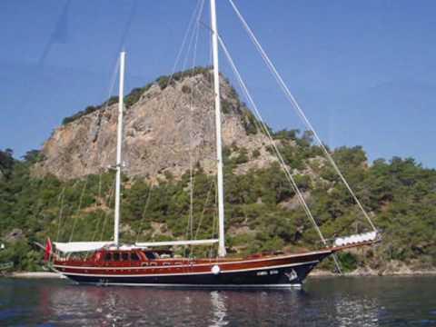 Charter gulet Cobra King in Turkey, Bodrum.wmv