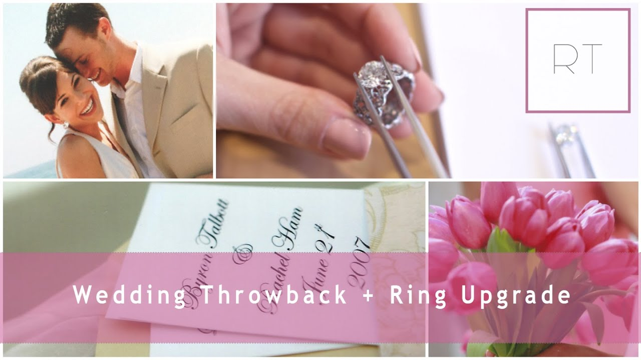 My Wedding Throwback (Pics & Video) + Ring Upgrade Details | Rachel ...