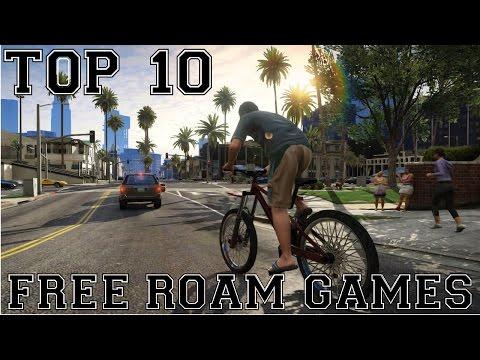 My Top 10 Free Roam Games Of 2008-2014 - New Years Video!