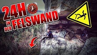 24H BIWAK in FELSWAND mit neuer Ausrüstung - Biwaksack & Defense 4 - Overnighter Übernachtung