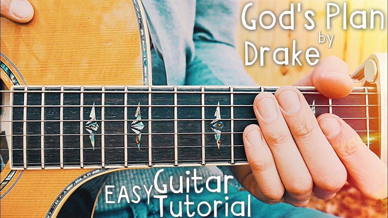 Gods Plan Drake Guitar Lesson Gods Plan Guitar Tutorial