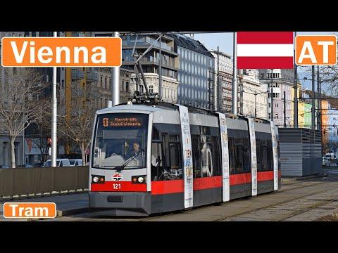 Austria , Vienna trams 2019