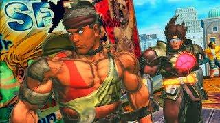 Street Fighter X Tekken Playthrough Ken and Ryu (Team Demon Lords!)