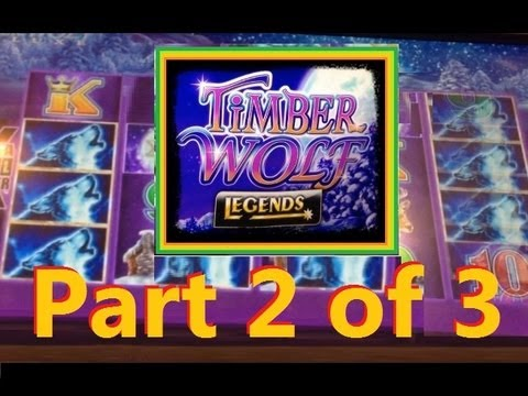Bigger Win Timber Wolf Legends Slot Machine Bonus