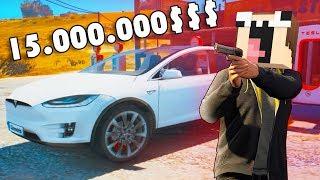 Нубик купил теслу в гта! TESLA за 15.000.000 в новом мире ГТА