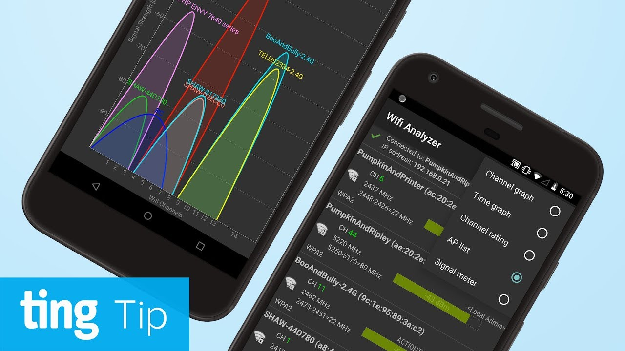 Find free Wi-Fi with Wifi Analyzer (Android) | Ting Tip