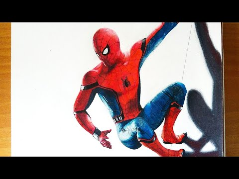 Cmo Dibujar A SPIDER MAN HOMECOMING How To Draw