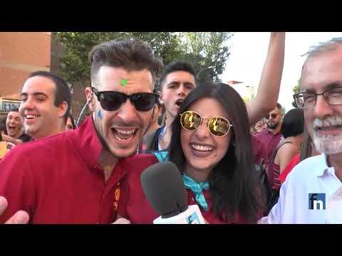 El Desfile de las Peñas en las Fiestas 2018