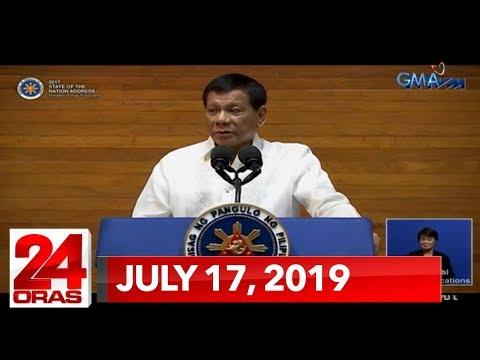 24 Oras Express: July 17, 2019 [HD]