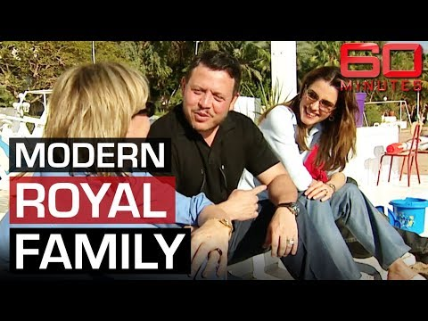 The modern King and Queen of Jordan, Abdullah and Rania   60 Minutes Australia