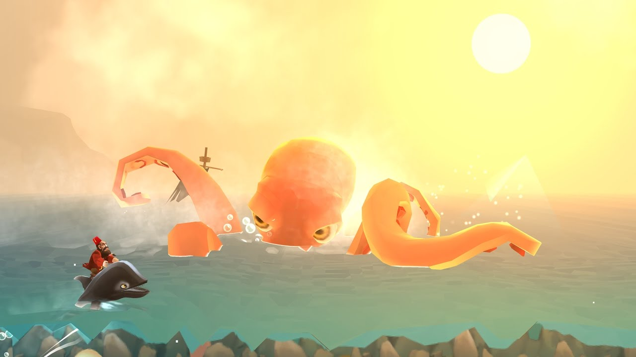 Run-A-Whale -Launch Trailer- Out now for IOS