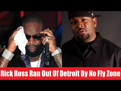 Rick Ross Gets Ran Out Of Detroit By Trick Trick`s No Fly Zone